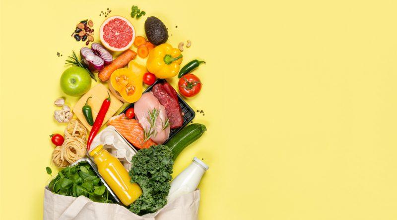 Alimentação em casa saudável