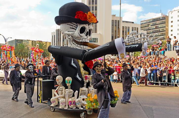 Mexico City, Mexico. Dia de Los Muertos.