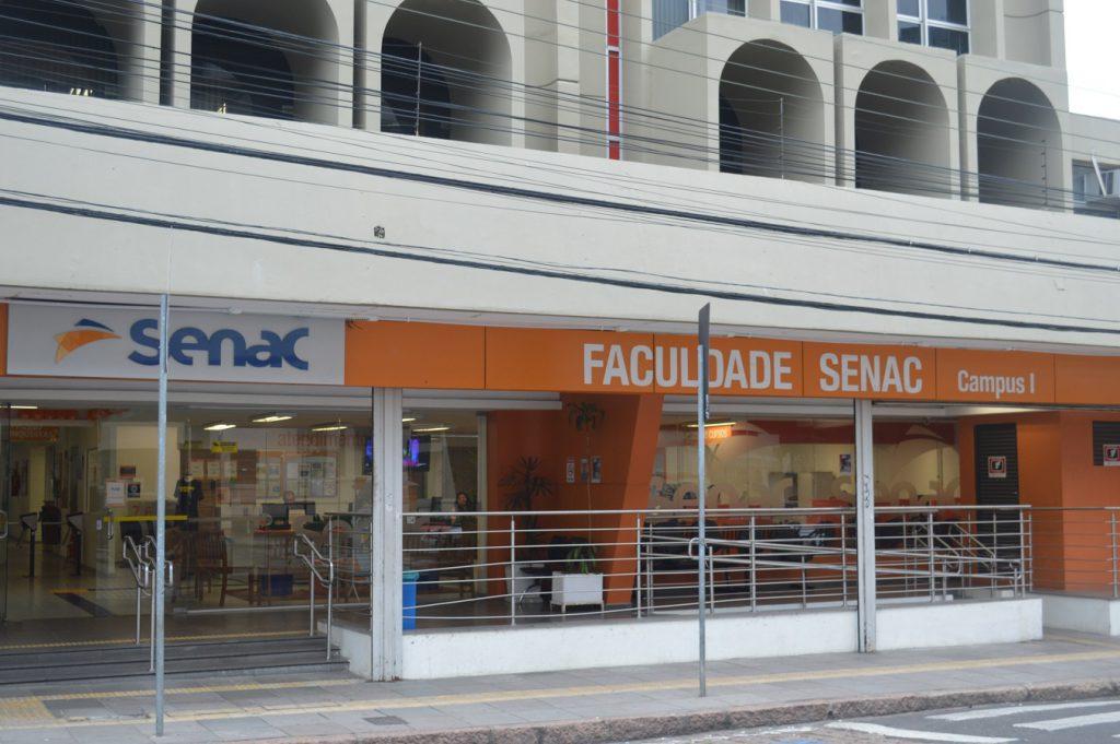 fachada da Faculdade Senac Porto Alegre