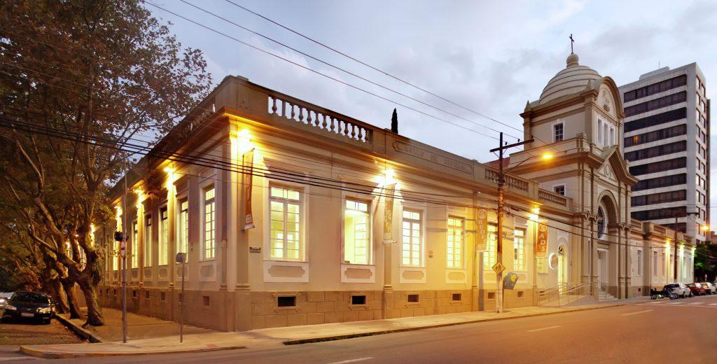 fachada da Faculdade de Tecnologia Senac Pelotas