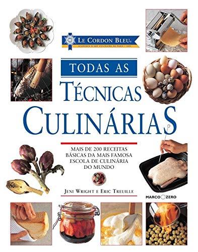 Livro de Gastronomia Técnicas Culinárias.
