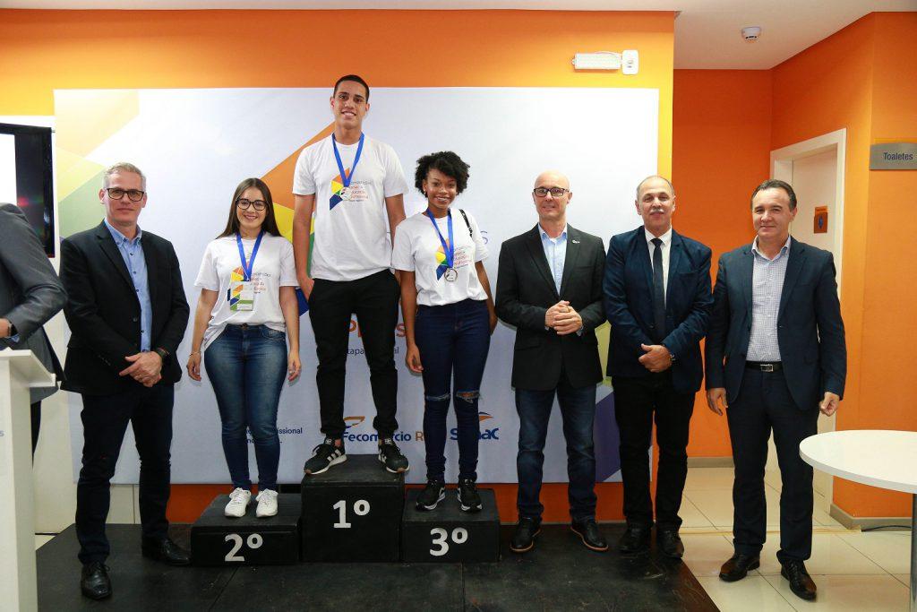 Etapa regional das Competições Senac de Educação Profissional realizada em 2019, em Tramandaí.